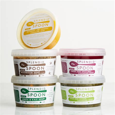Soup Detox Delivery by The Splendid Spoon Will You Be Soup Cleansing