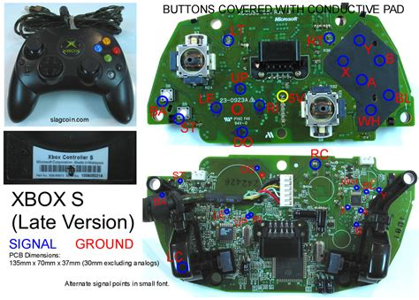 xbox 360 controller pcb diagram xbox free engine image