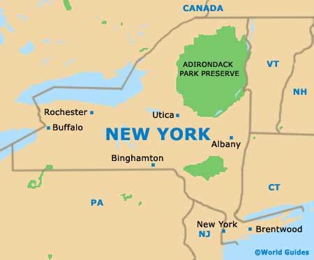 map usa new york state new york maps and orientation new york usa