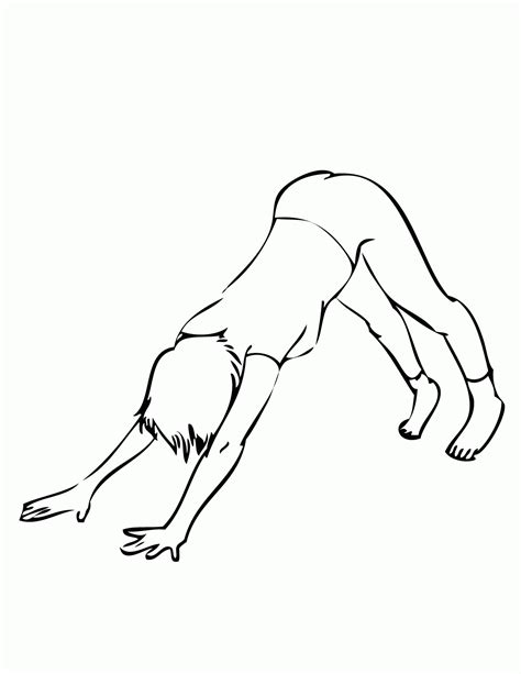 coloring pages yoga yoga coloring pages coloring home