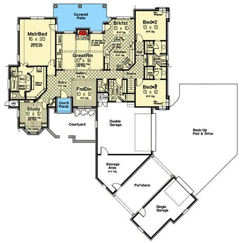 old world floor plans old world french country home plan 48432fm architectural