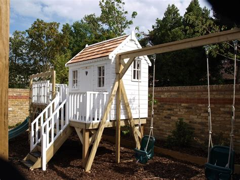 Childrens Cottage Company by Childrens Cottage Tree House With Platform Treehouses