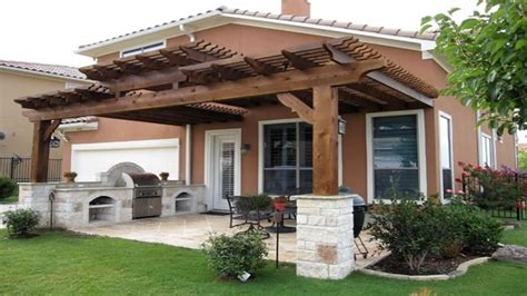 Ideas Design For Attached Pergola Wood Patio Covers Pictures Pergola Designs Attached To House Attached Pergolas Patio Covers