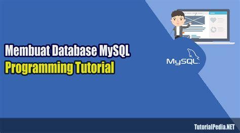 membuat query database mysql cara membuat database mysql dengan phpmyadmin tutorialpedia