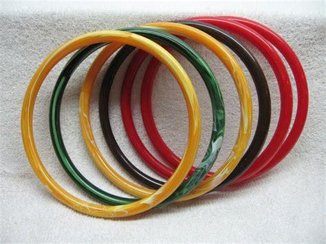 Plastic Macrame Rings - 6 marbella plastic rings handles macrame craft crochet