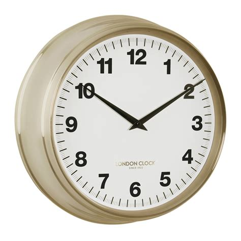 clock buy buy coach gold wall clock 37cm online purely wall clocks