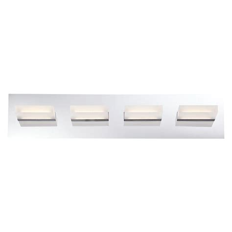 Eurofase Olson Collection 4 Light Chrome Led Bath Bar Led Bath Bar Lighting