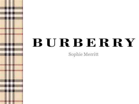 Burberry Mba by Burberry Study