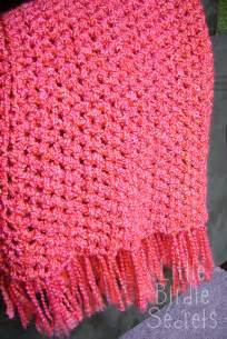 quick and simple crocheted afghan easy crochet