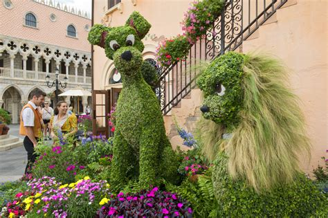 disney flower and garden festival dates for the 2014 epcot international flower garden