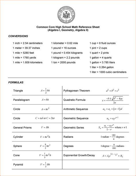 Trig Reference Table by Trig Reference Table Sop Exle