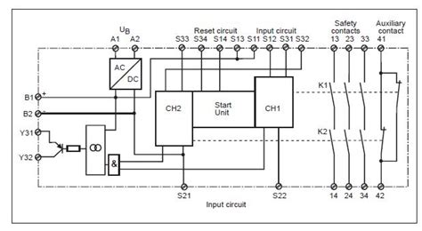 pilz safety relay wiring diagram how do safety relays work