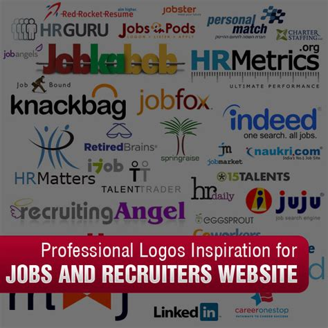 design inspiration jobs professional logos inspiration for jobs and recruiters website