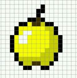 minecraft pixel templates pixel templates minecraft apple pixel template