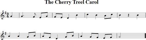 the cherry tree carol free violin sheet
