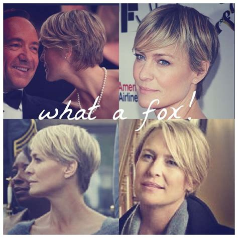 trick haircut story 17 best images about robin wright claire underwood on