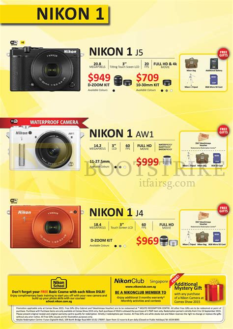 nikon price list comex show 2015 price list flyer prices in