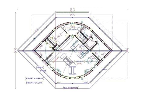 straw bale house plan the eye straw earth yurt a