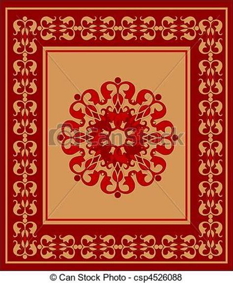 alfombra in arabic vetor de 225 rabe tapete csp4526088 buscar clip arte