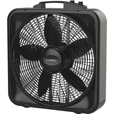 ultra quiet box fan lasko weather shield select 20 box fan with thermostat