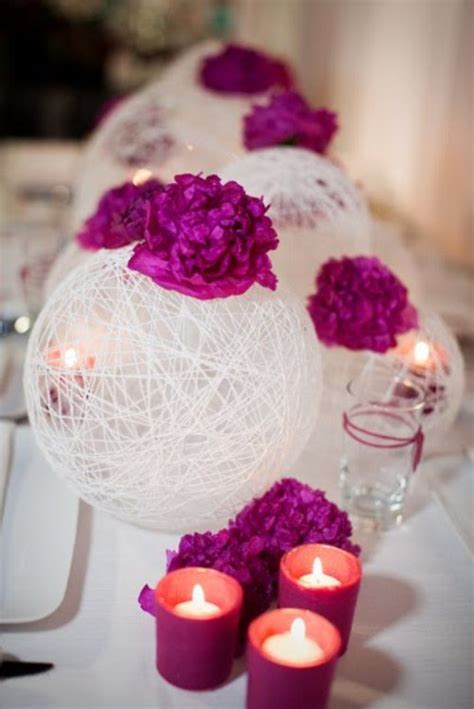 cool diy wedding centerpieces how to make a yarn centerpiece the right way joyful musings