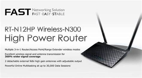 Asus Wireless N Router Rt N12hp B1 asus rt n12hp rev b1 router receives new firmware version 3 0 0 4 380 2943