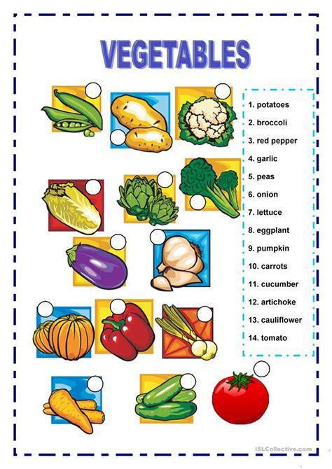 vegetables worksheet vegetables worksheet free esl printable worksheets made by teachers