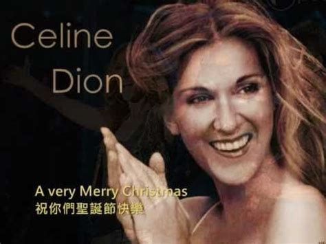 it is a christmas dion dion and so this is 中文歌詞