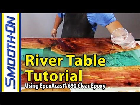 river table  clear epoxy casting resin