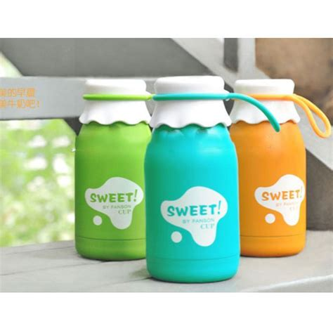 Botol Minum Cup botol minum sweet fashion cup solid color 350ml sm 8406 green jakartanotebook