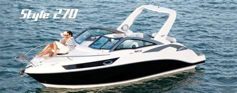 speedboot met open punt style sportboten bowriders sportcruisers style
