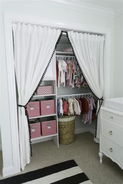 Curtains Instead Of Closet Doors Discover And Save Creative Ideas
