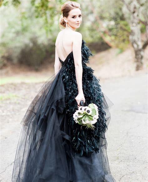 imagenes de vestidos de novia negro 25 novias que no usaron un vestido blanco el d 237 a de su boda