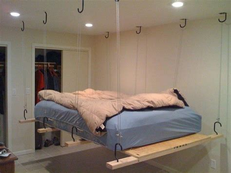 hanging bed embracing the wall hanging bed design for a creative