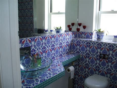 turkish bathroom tiles turkish tiles mediterranean bathroom london by