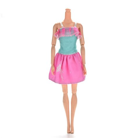 13 Fashion Accessories For Summer by 1 Pc 13cm Mini Princess Lace Dress For Barbies Dolls