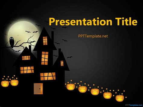 Free Halloween Powerpoint Templates Download Free Ppt | free halloween frankenstein ppt template