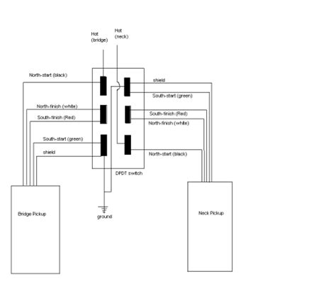 dpdt switch wiring diagram audio dpdt get free image
