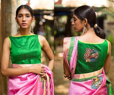 boat neck pattu blouses designer boat neck blouse designs for sarees
