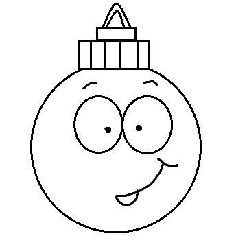 black and white christmas ornament clipart new calendar