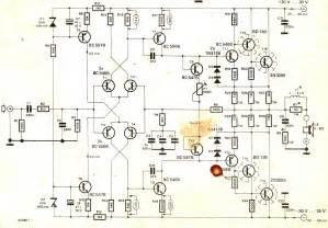 fi  watt amplifier circuit