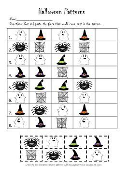 halloween pattern worksheets for kindergarten 268 best thema heksen en toveren images on pinterest