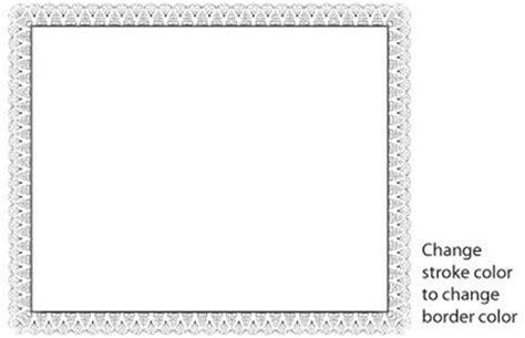 border templates for adobe illustrator certificate border vector free vector in adobe illustrator