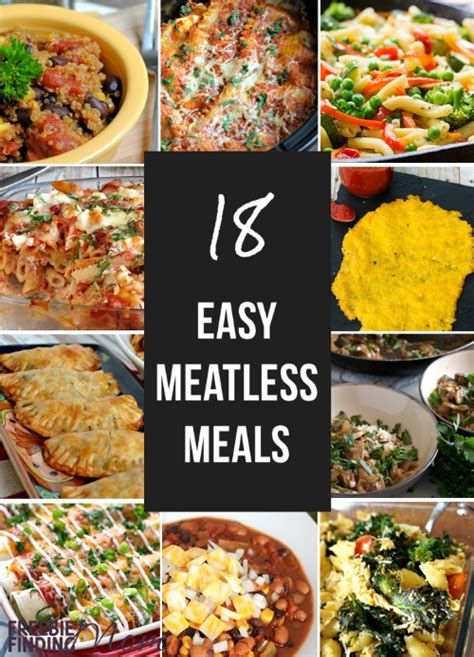 25 meatless family dinner ideas 18 excellent easy meatless meals