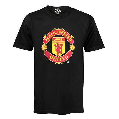 tshirt manchester united 2 manchester united fc official football gift mens crest t