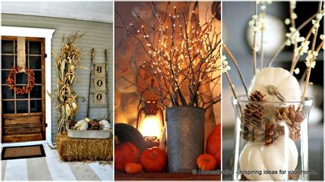 magical diy fall decorations   household