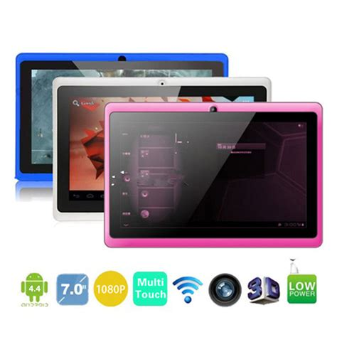 android 4 4 tablet best allwinner a33 7 inch tablet q88 wifi bluetooth mid dual cameras android 4 4 os