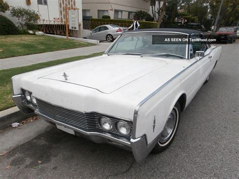 2 Door Lincoln by 1966 Lincoln Continental 2 Door Coupe Hardtop V8 462cu