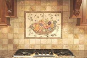 Mural Tiles For Kitchen Backsplash by Ceramic Tile Kitchen Backsplash Murals