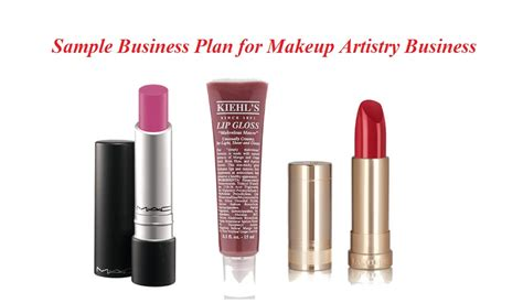 makeup artist business plan sle writing guidelines